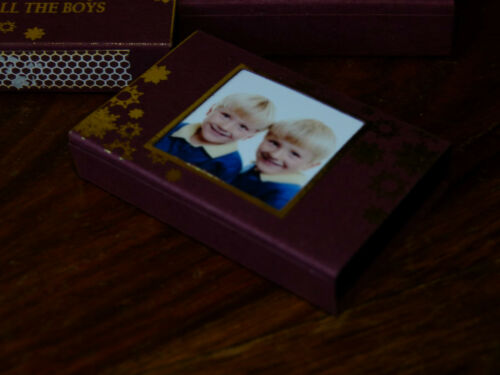 Personalised Matchbox Includes Any Custom Design