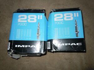 Schrader Valve Impac Hybrid Bike Inner Tube 700 x 28-45C