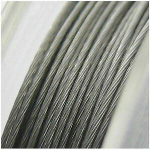 Wire-For-Crafting-Jewellery-Nylon-Coated-0-1-32in-Strength-1-M