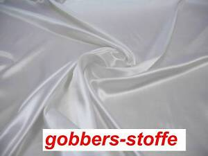 1,75€//m edel glänzender SATIN STOFF Deko STOFFE Preis pro Meter freie Farbwahl
