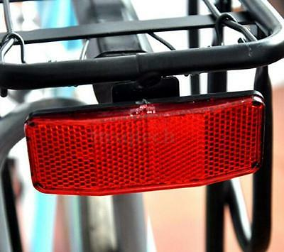 DZ837* Bicycle Bike MTB Safety Caution Warning Reflector Disc Rear Pannier Racks