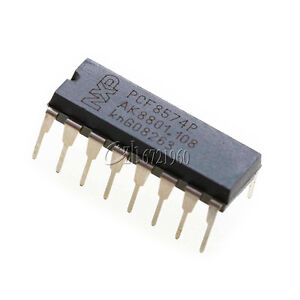 10PCS-PCF8574P-PCF8574-DIP-16-NXP-PHI-Remote-8-bit-I-O-Expander-IC