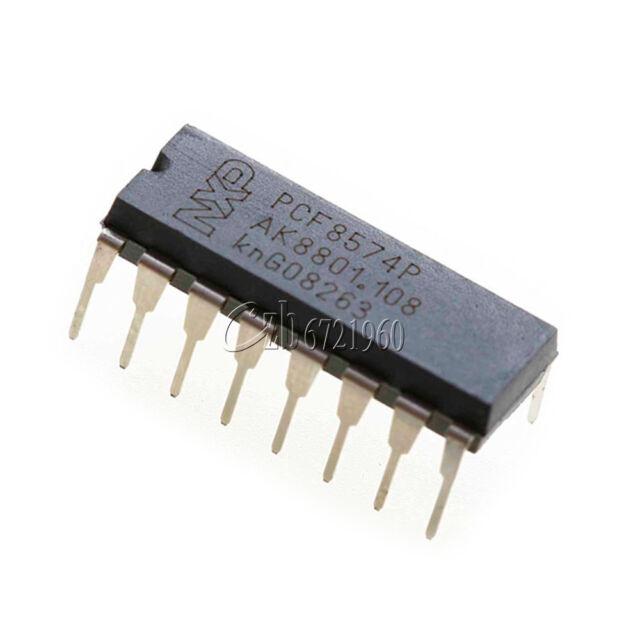 10PCS PCF8574P PCF8574 DIP-16 NXP/PHI Remote 8-bit I/O Expander IC
