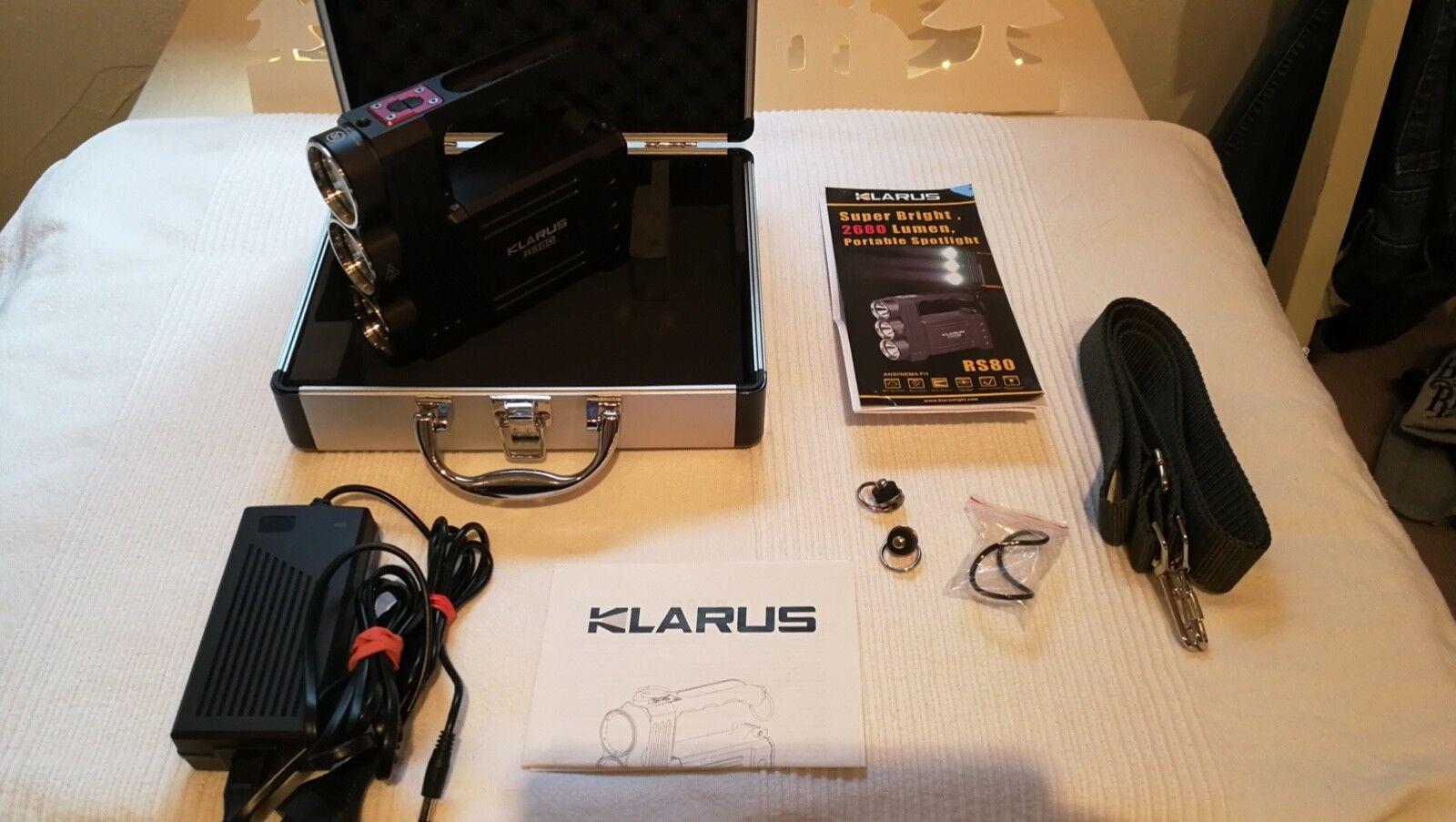"""Taschenlampe RS """"Klarus RS Taschenlampe 80"""" zu verkaufen 0a9b8d"""