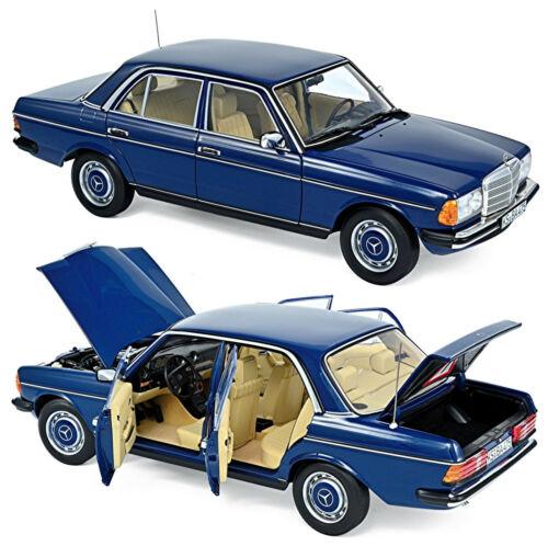 Mercedes benz sedán 230 w123 segunda serie 1979-82 azul Blue 1:18 norev