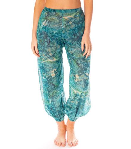 Kiniki Santorini tan through Harem Pantaloni Accessorio beachwear