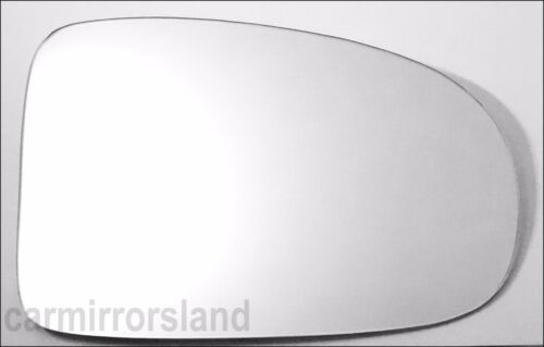 Right Driver SIde Car Wing Mirror Glass CONVEX Toyota Avensis 2009-2017