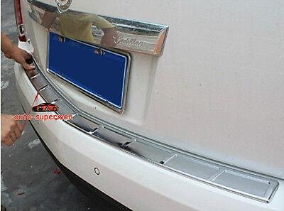 Exteriors Rear Door Bumper Protector sill plate cover for Cadillac SRX 2010-2016