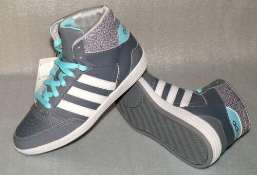 Hoops Adidas W 36 Damen Sneaker F98641 Mid Leder Grau Türkis Schuhe Uk3 Gr Vl 5 54agxApw4q