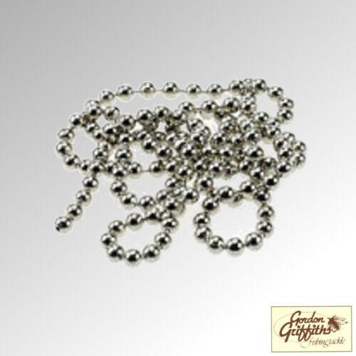 """Gordon Griffiths Bead Chain Silver Chain Eye 17/"""" Standard and Mini BC"""