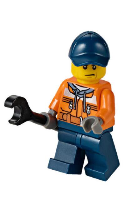 LEGO® Minifig City - Hafenarbeiter mit Zubehör aus dem Set 60106