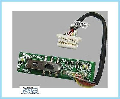 Scheda pulsante tasto accensione power board button HP 510 530 per interruttore