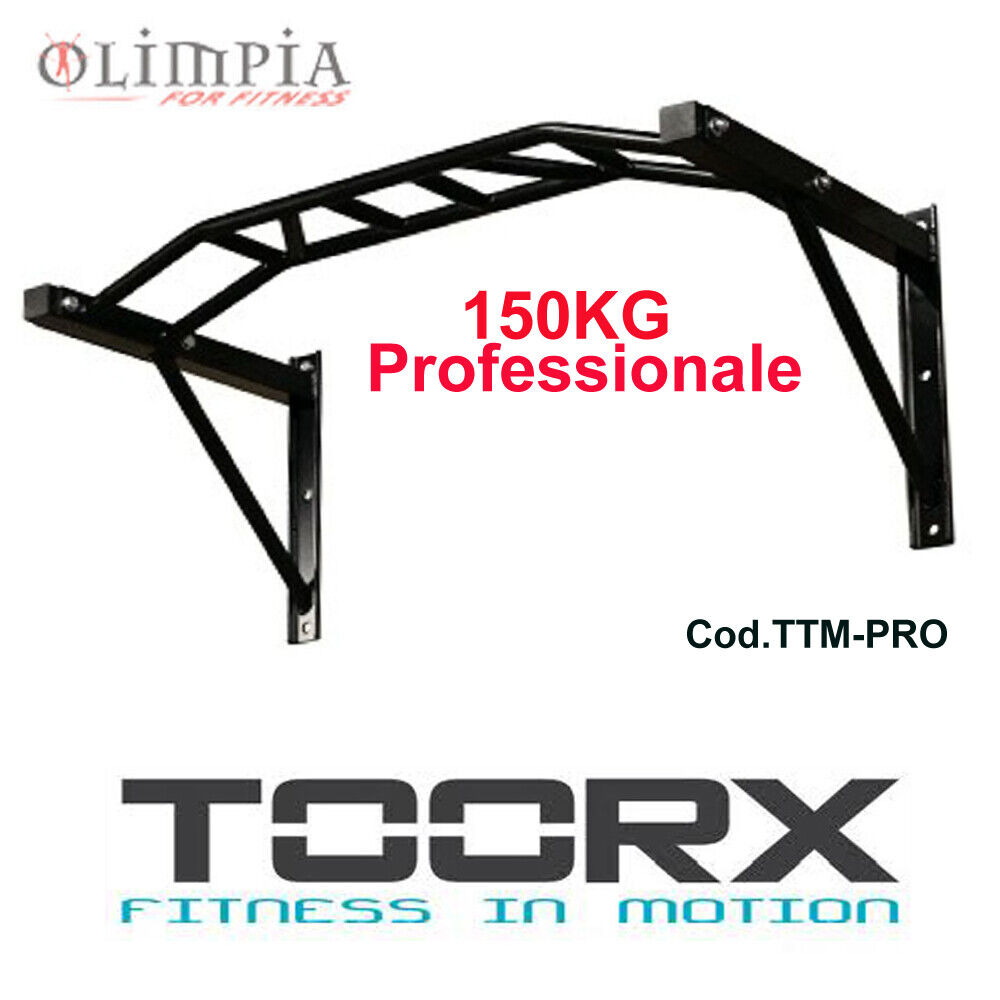 Toorx TTMPRO BARRA TRALICCIO TRAZIONI Parete   Peso Max 150kg  SottoCosto