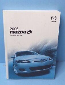 06 2006 mazda 6 owners manual ebay rh ebay com mazda 6 2006 owners manual pdf 2005 Mazda 6 Manual