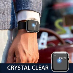Coque Bumper TPU Case Cover Protection écran Apple Watch 5 4 3 2 38 40 42 44 mm