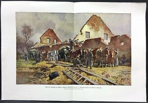 Heavy-Munitionskolonne-at-Fortnin-Soldiers-Military-WK1-Art-Print-W-4100