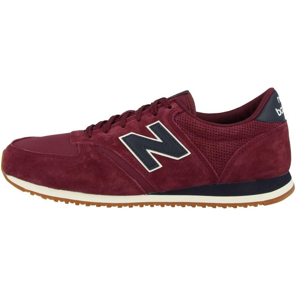 New Balance U 420 Hj Chaussures De Loisirs Sneaker Retro Baskets Bourgogne U420hj