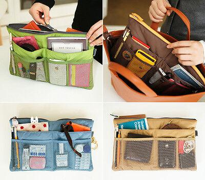 invite.L BAG IN BAG Slim_Padding Organizer Insert Purse Multi-Use Pouch_iPad