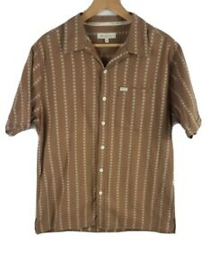Marmot-Homme-Chemise-a-manches-courtes-Medium-M-marron-boutonne-a-manches-courtes-Outdoor