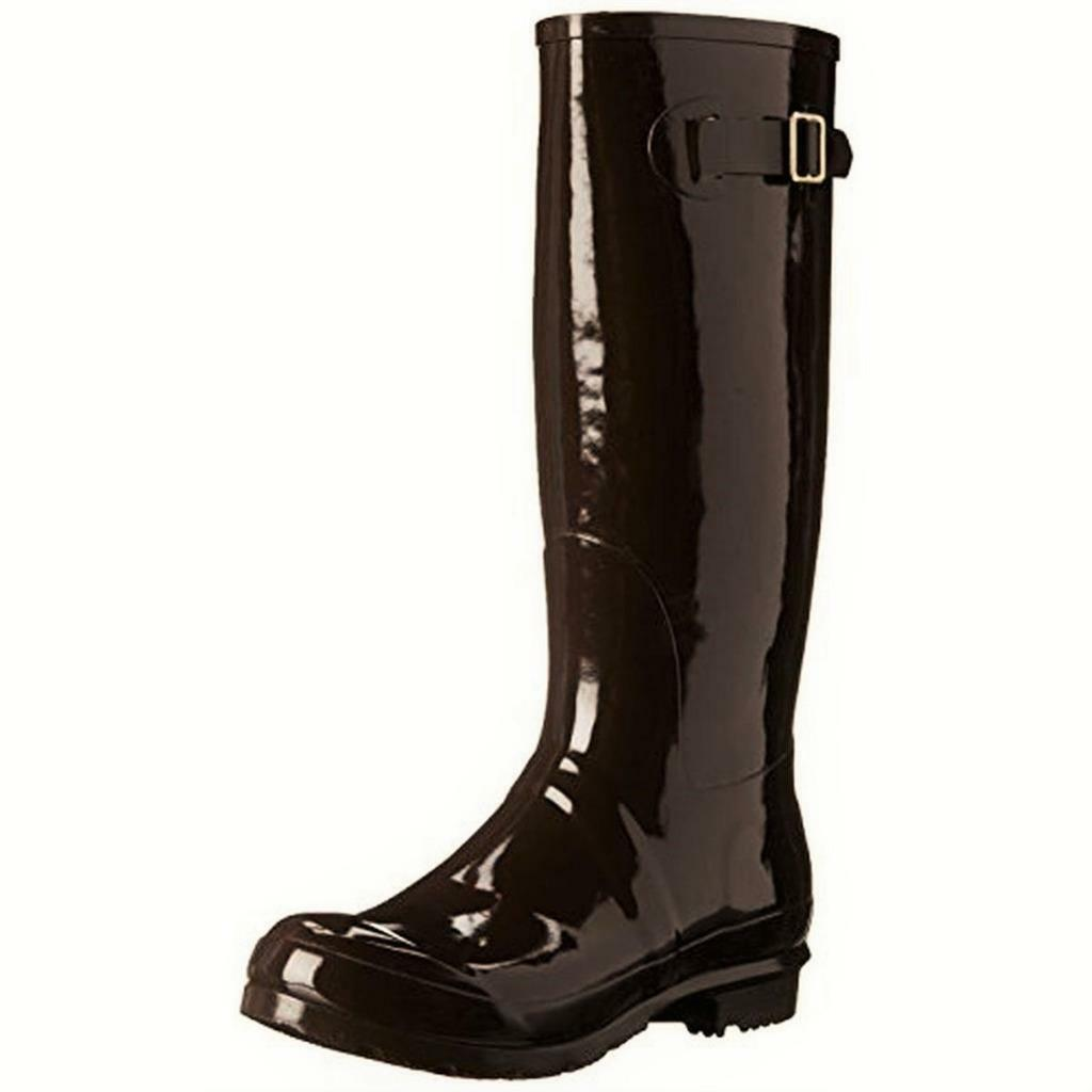 NOMAD  BROWN Rubber Hurricane II KNEE-HIGH RAIN BOOTS SHOES 6 M NWT