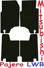 MITSUBISHI PAJERO LWB Deluxe qualità Tappetini su misura 1992 1993 1994 1995 1996 1997