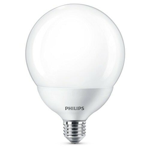 - Blanc chaud Philips DEL Globe G120 E27 à Vis Edison Ampoule 18 W 120 W