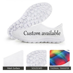 9b75e6465272 Image is loading FORUDESIGNS-Custom-Design-Mesh-Shoes-Breathable-Running- Shoes-