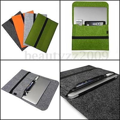 Smart Color Laptop Felt Sleeve Case Cover Bag for Apple MacBook Pro Retina & Air