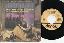 ALEC COSTANDINOS disco 45 giri MADE in ITALY The hunchback of Notre Dame 1979