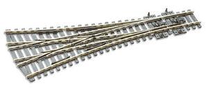 Peco-SL-E99-Electro-Grenouille-Moyen-Rayon-610mm-3-Voie-Point-039-00-48-Envoie