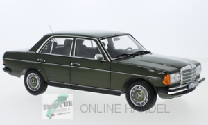 Mercedes-Benz-200-w123-metalica-verde-oscuro-1-18-norev-Oldtimer-montana-doctor