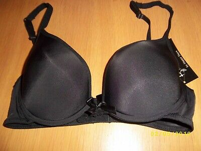 Clearance White Smoothlines Padded Underwired Front Bow Detail Bra Various Size