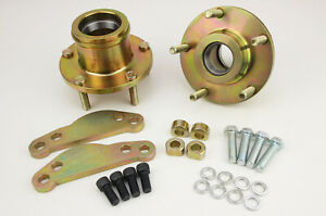 Holden-HQ-HJ-HX-HZ-WB-to-AU2-298mm-Disc-Brake-Upgrade-Hubs-Bracket-Adaptors-KIT