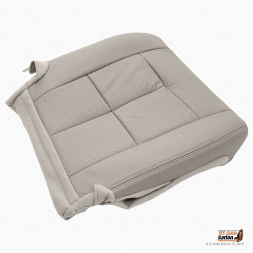 2011 2012 Lincoln Navigator Driver Bottom Perforated Leather Cover Color Gray