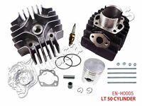 Suzuki Lt A50 Cylinder Engine Piston Ring Gasket Top End Kit Set 2002 2003 04 05