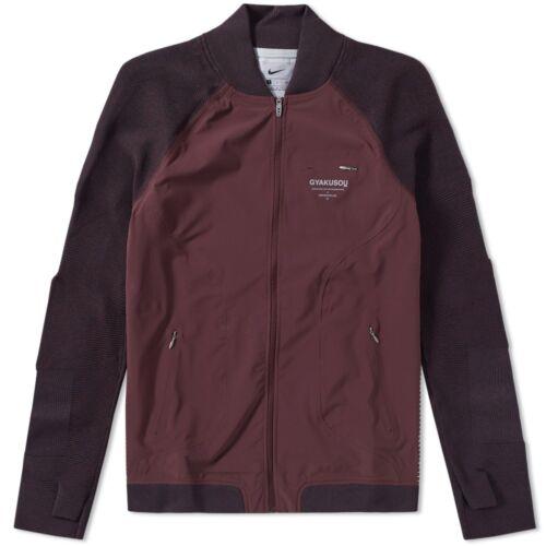 NikeLab Gyakusou Team Jacket Men/'s Track Jacket Mahogany Red 842779 210 Large