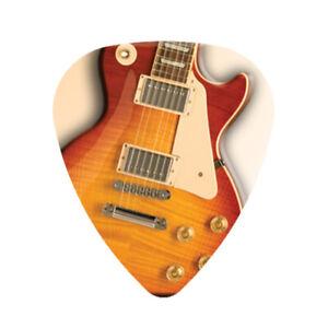 12 Pack GIBSON Les Paul Guitar Picks Medium Celluloid Pick FREE Shipping