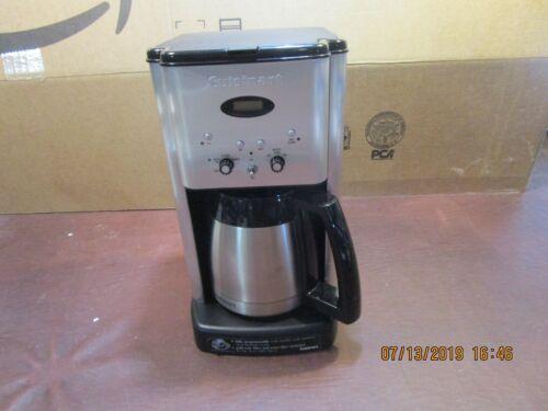CUISINART 12-CUP PROGRAMMABLE COFFEE MAKER MODEL# DCC1400