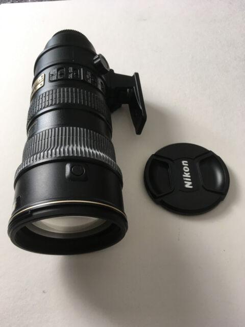 Nikon 70-200 mm F/2.8 AF-S VR G IF-ED Objektiv