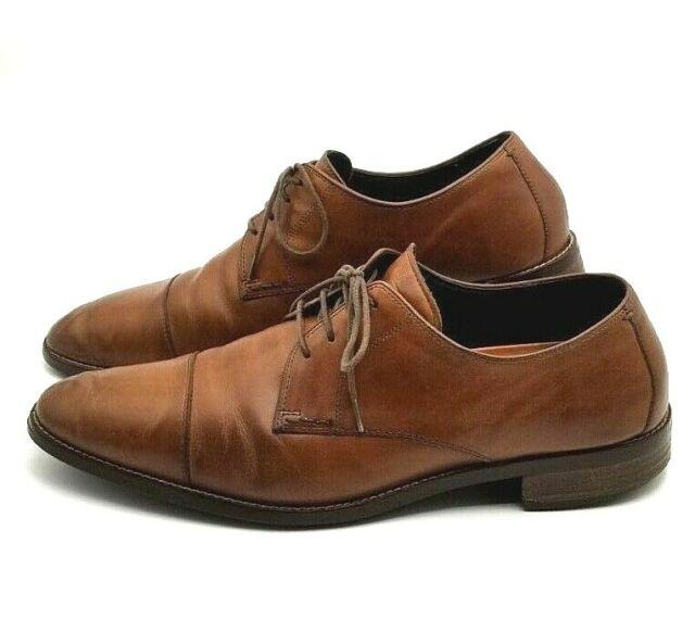 cc167b892e6 Cole Haan Men s Lenox Hill Cap Toe Oxford British Tan Shoes - C11632 ...