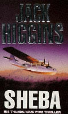 """""""AS NEW"""" Higgins, Jack, Sheba, Paperback Book"""