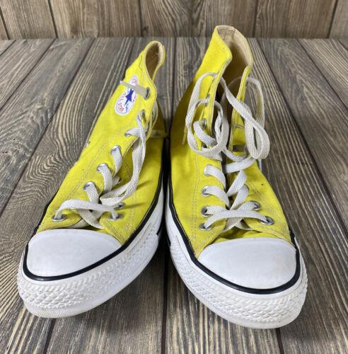 Converse Chuck Taylor All Stars Yellow High Top La