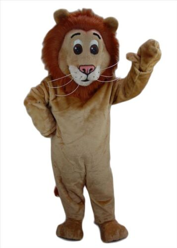 Lion Mascot Costume Animal Cartoon Fancy Dress Cosplay Prop Adults Parade Outfit