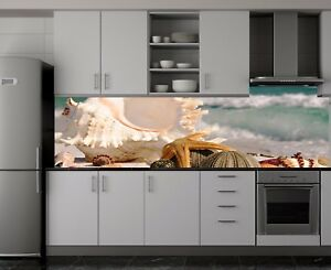 Kuchenruckwand Sp7 Meeresrauschen Acrylglas Spritzschutz