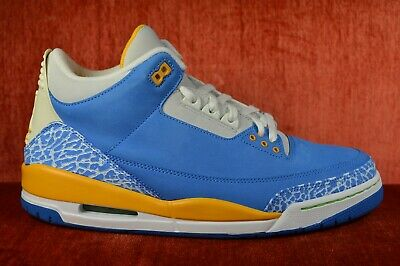 best sneakers b25f6 69210 WORN ONCE 2007 Retro Air Jordan 3 LS Do The Right Thing Size 12 DTRT 315297