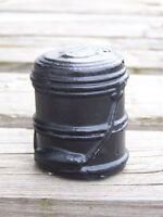 Miner's Dinner Bucket Made From Coal Figurine Handcrafted In Kentucky
