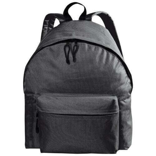 Rucksack aus Polyester schwarz Farbe