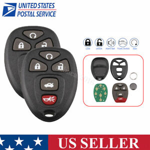 Replacement Keyless Entry Remote Key Transmitter Car Fob For Chevy Malibu Cobalt