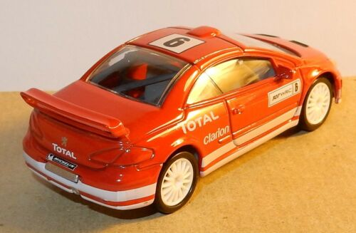 NEUF NOREV 3 INCHES 1//64 PEUGEOT 307 WRC N°6 300 CV 220 KM//H TOTAL CLARION NEUF