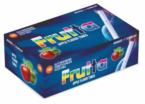 Frutta Apple Aromatisiert NoCapsule Zigarettenhülsen 100 Stück-Packung